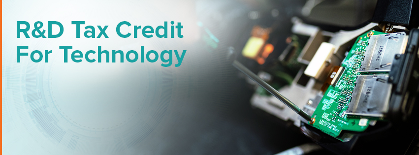 R&D Tax Credit for technology companies